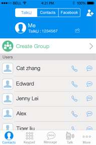 TalkU - Free Phone Calls, Texts & Walkie Talkie, PTT